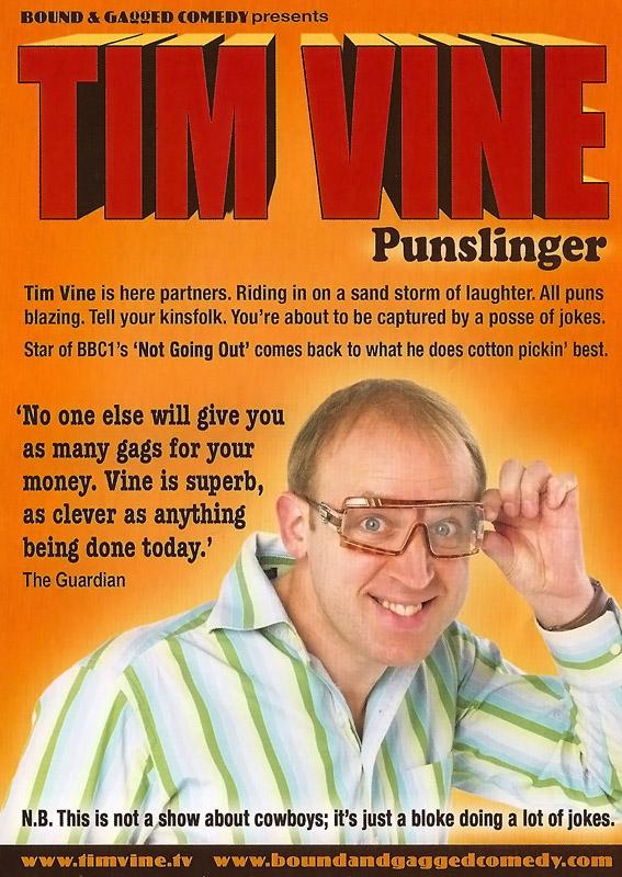 Pun Slinger - Tim Vine